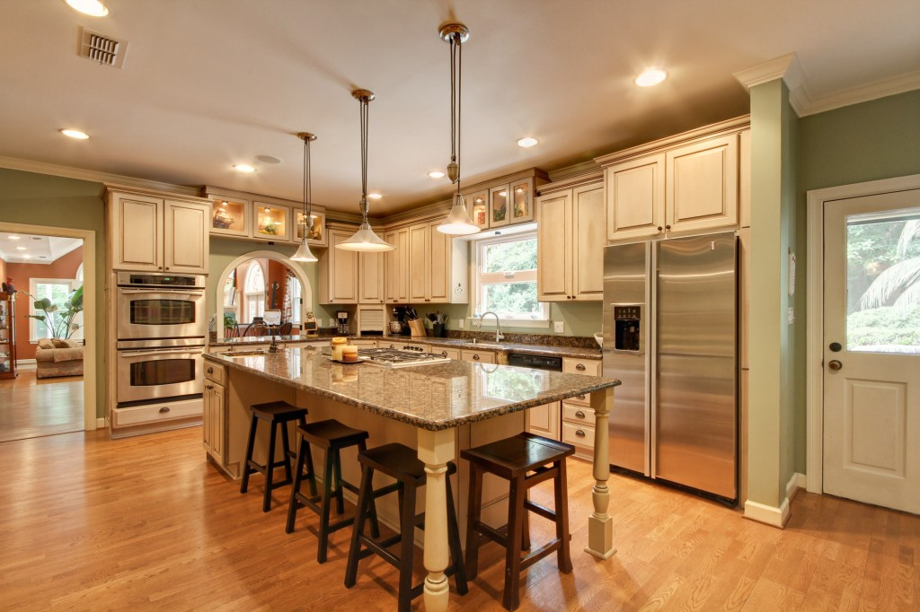 Luxury kitchen renovations custom cabinetry appliance House beautiful kitchen of the year 2013
